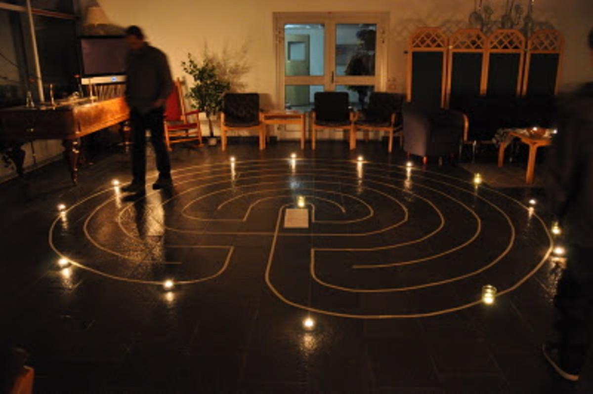 Prayer labyrinth