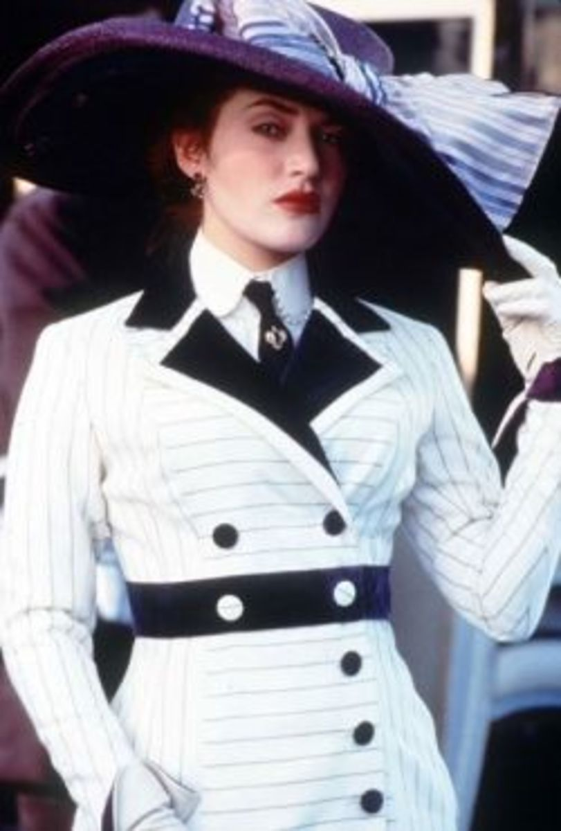 Kate Winslet as Rose from Titanic