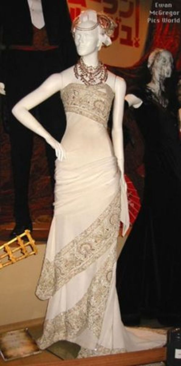 The Hindi wedding Gown from Moulin Rouge