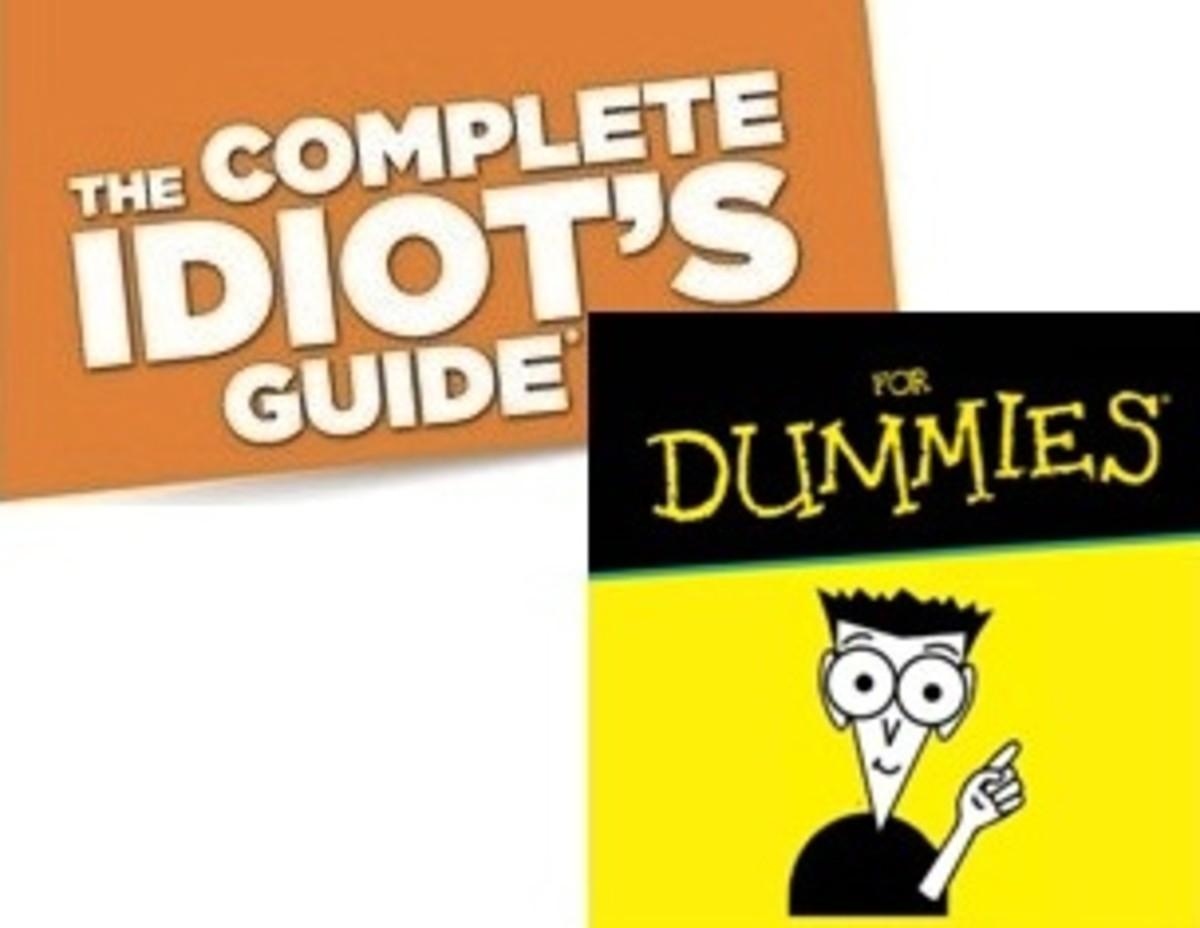 The Complete Idiot's Guide for Dummies – which series is the better?