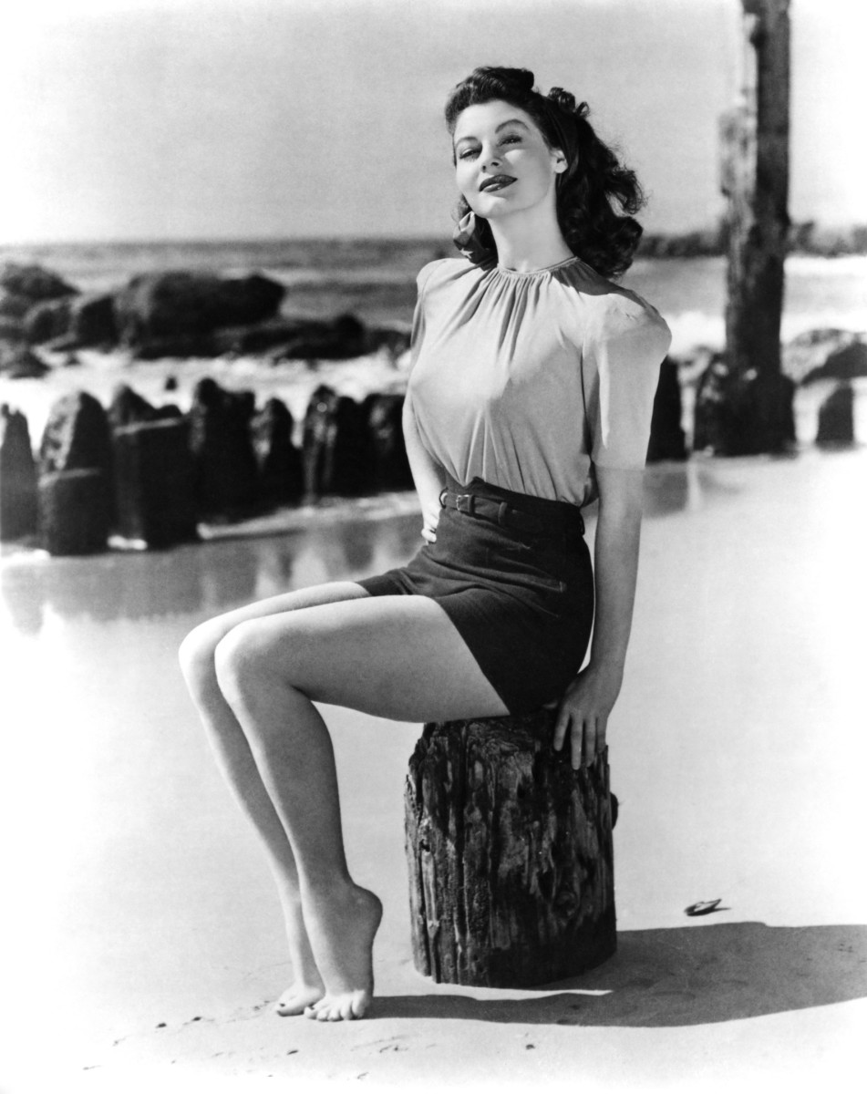Ava Gardner Deep down, I'm pretty superficial.
