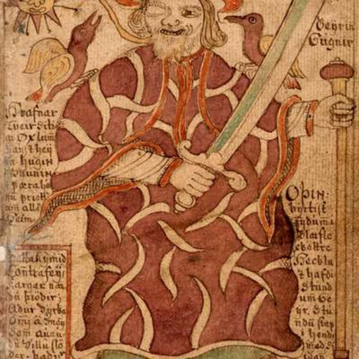 VIKING - 33: KORMAK,  Ill-fated Icelandic Wordsmith Who Comes To Grief Battling With A Pictish Giant