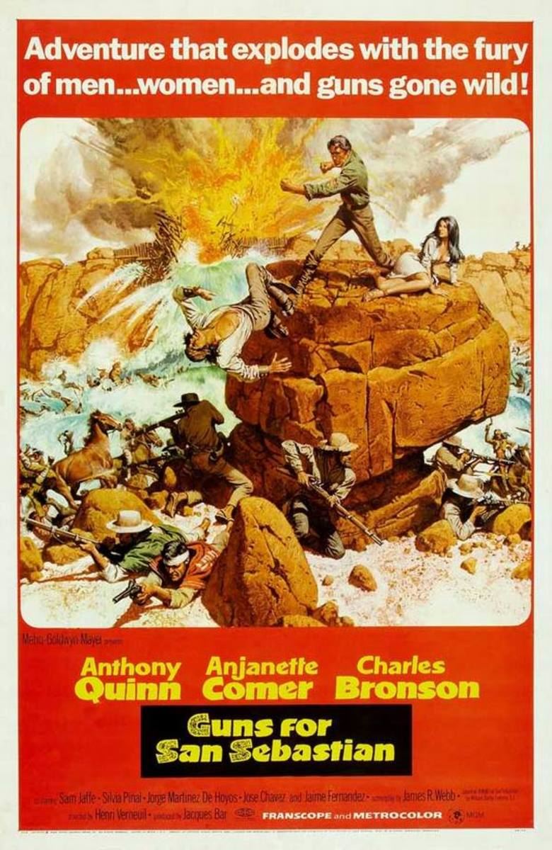Guns of San Sebastian (1968)