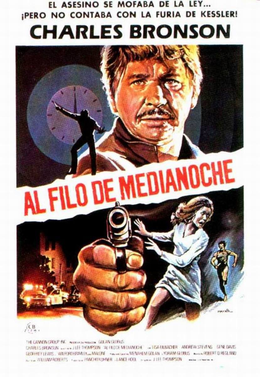 10 to Midnight (1983) Spanish poster