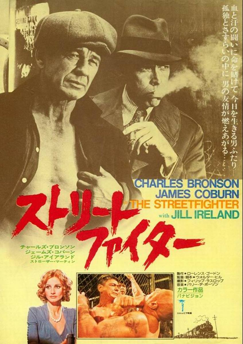 Hard Times (1975) Japanese poster