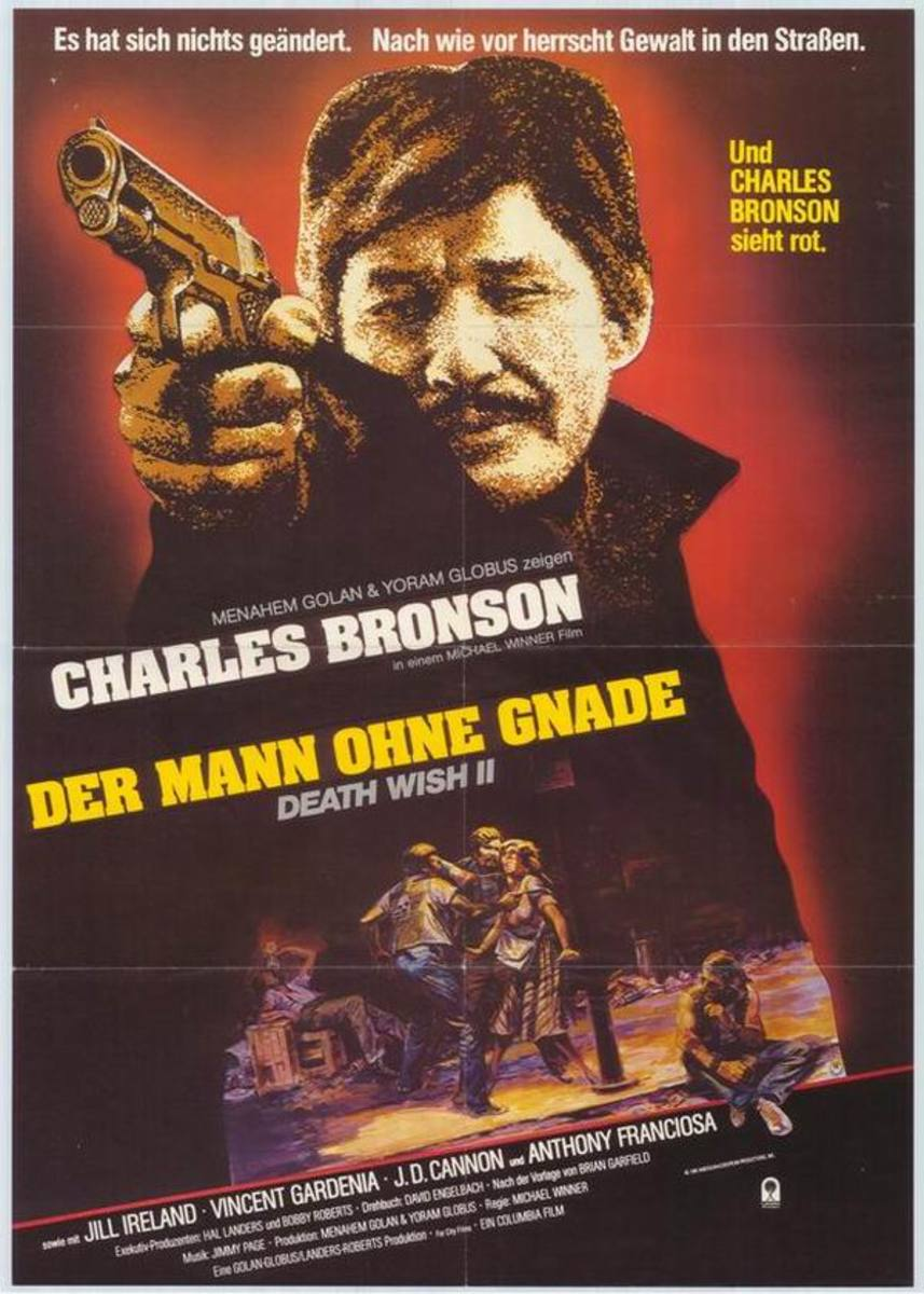 Death Wish II (1982) German poster