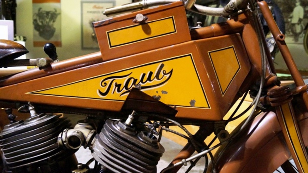 The Traub Motorcycle - one of the toolboxes.