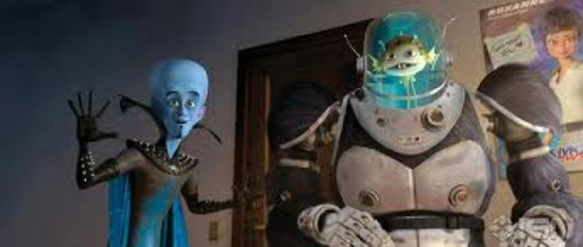 Minion is the only friend Megamind has, no wonder he felt alone eh?!