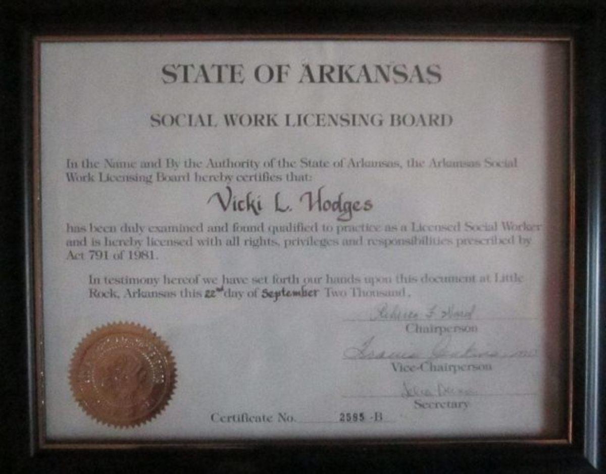 My Social Work License