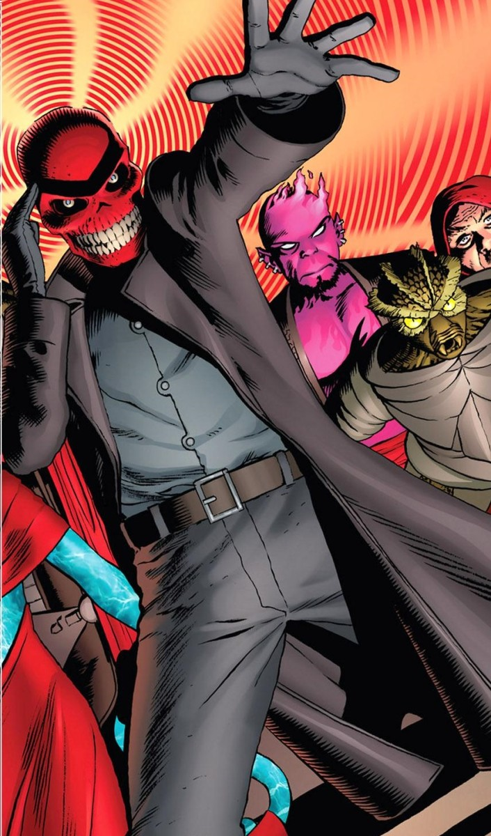 Red Skull with Xavier's Power