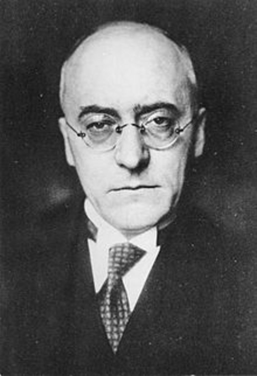Heinrich Bruning, Chancellor of Germany, 1930-1932.