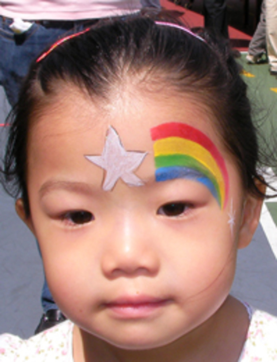 Star Face Painting For Children Designs Tips And Tutorials