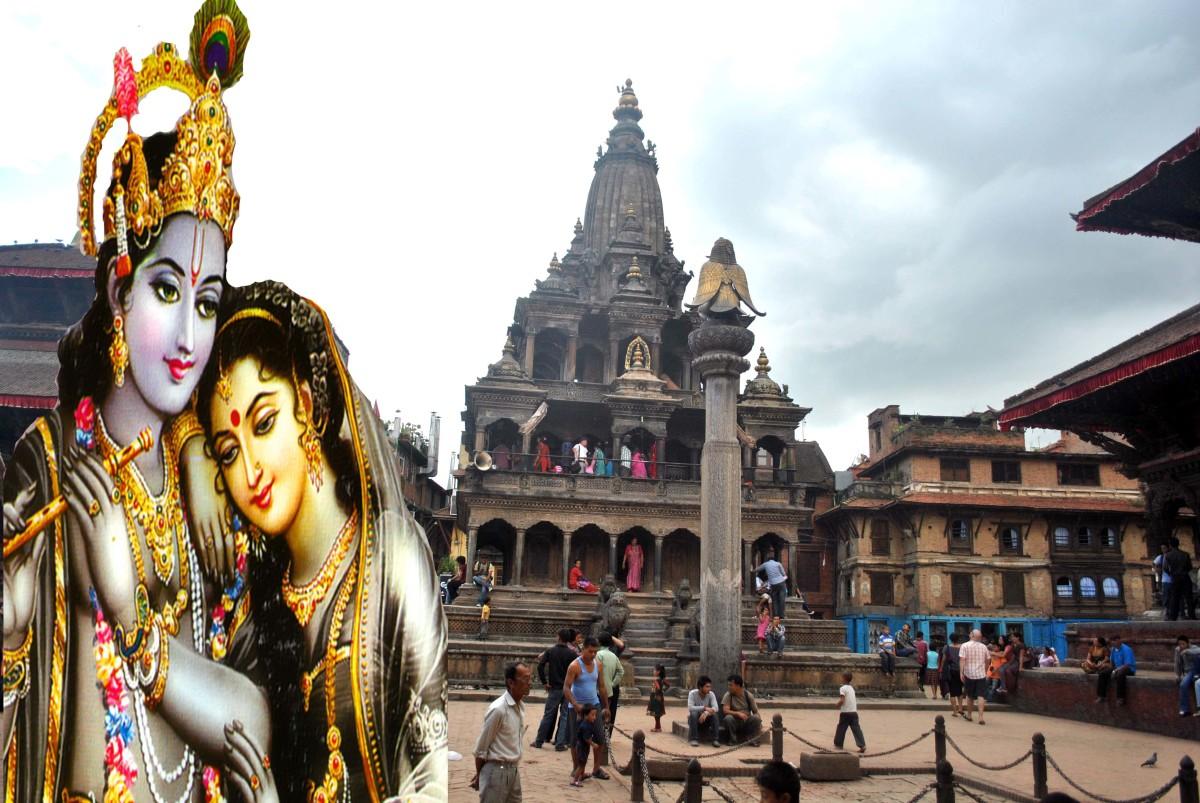 Krishna Temple in Kathmandu, Nepal