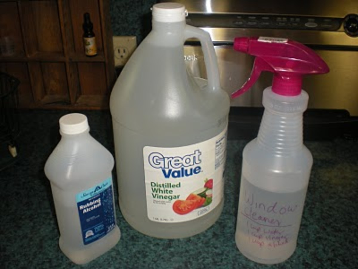 How to Make Homemade Window Cleaner With Vinegar