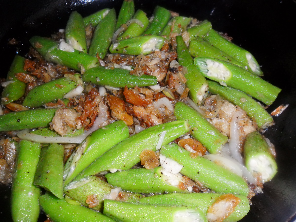 okra-recipe-jamaican-style-with-salted-codffish