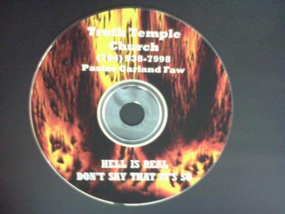 Churches still  CD's of Hell Sounds today. You can get your copy for just $12.99!