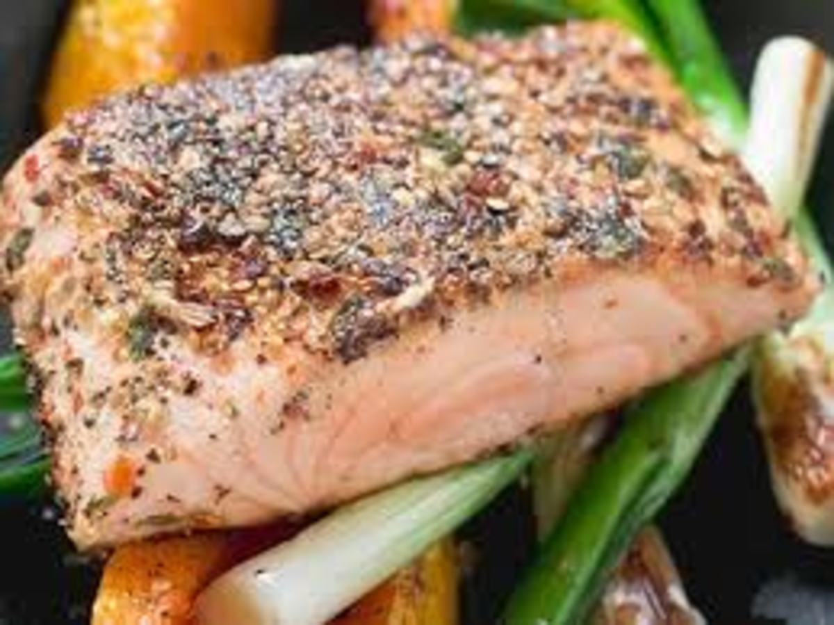 Fatty fish - salmon