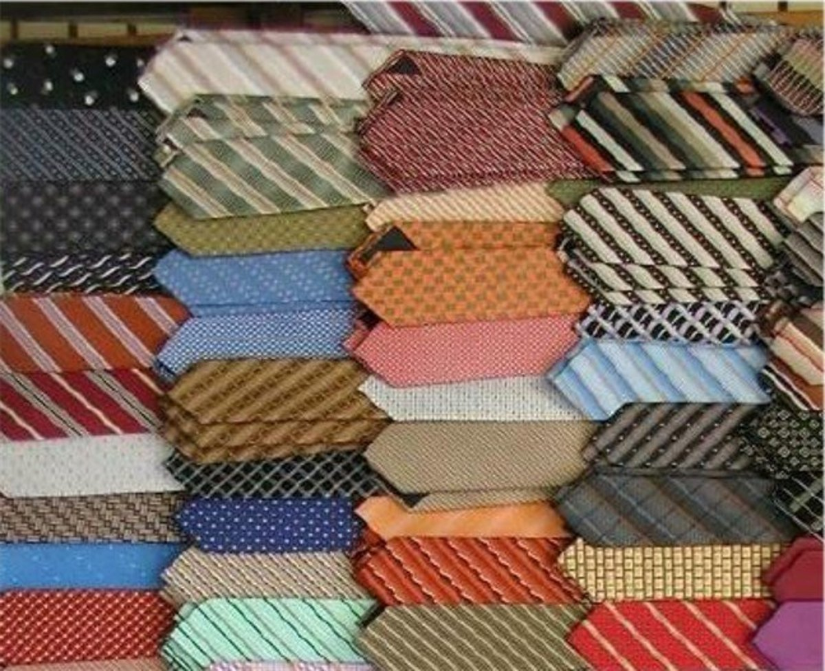 My Father,  Silk Ties, And A Quilt