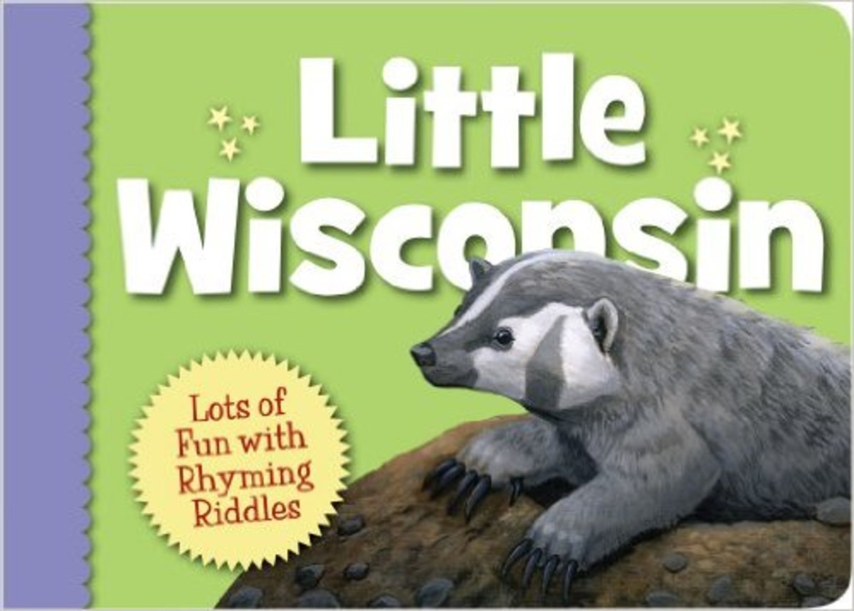 Little Wisconsin (Little State) Board book by Kathy-jo Wargin