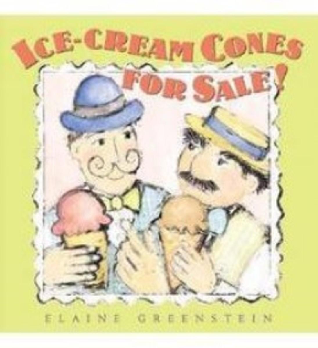 Ice Cream Cones For Sale! by Elaine Greenstein