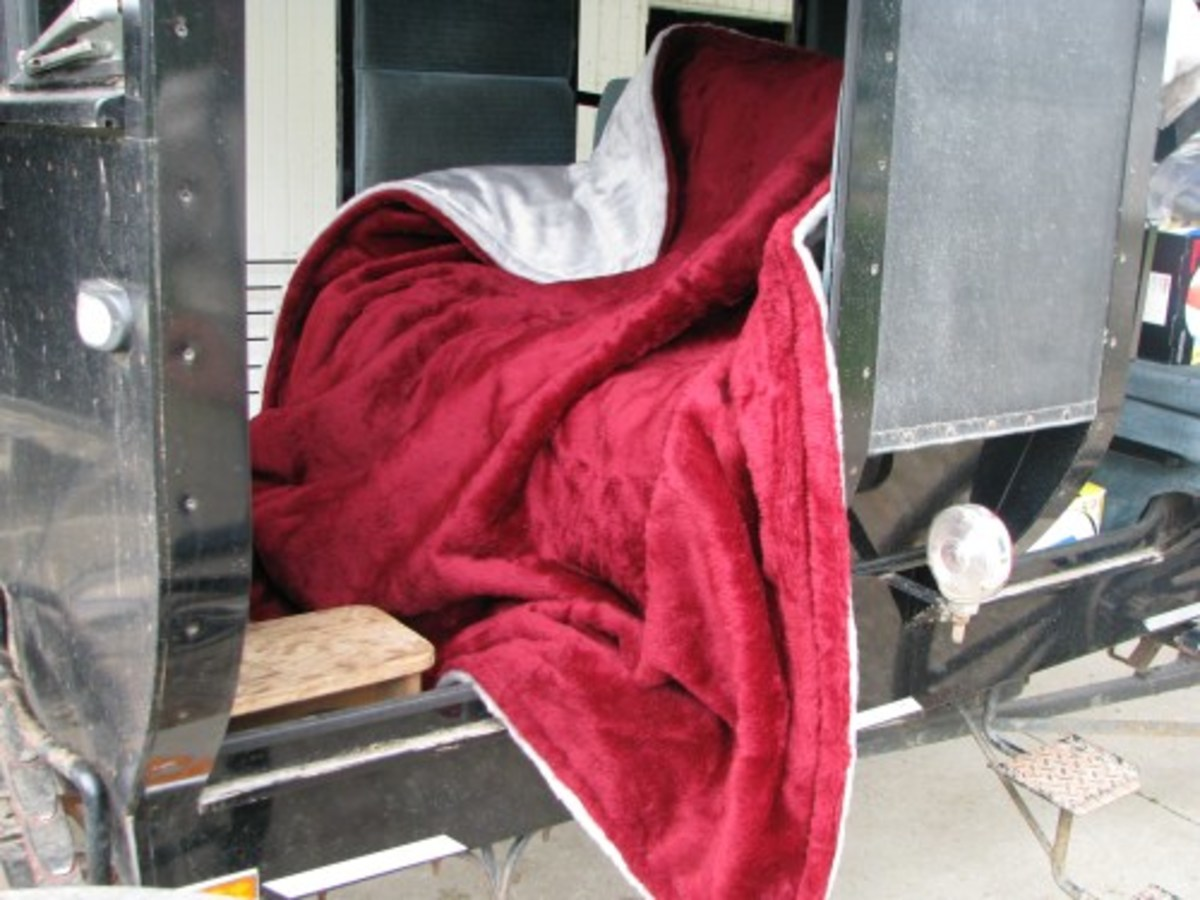 Buggy Blanket With Wind Breaker Material