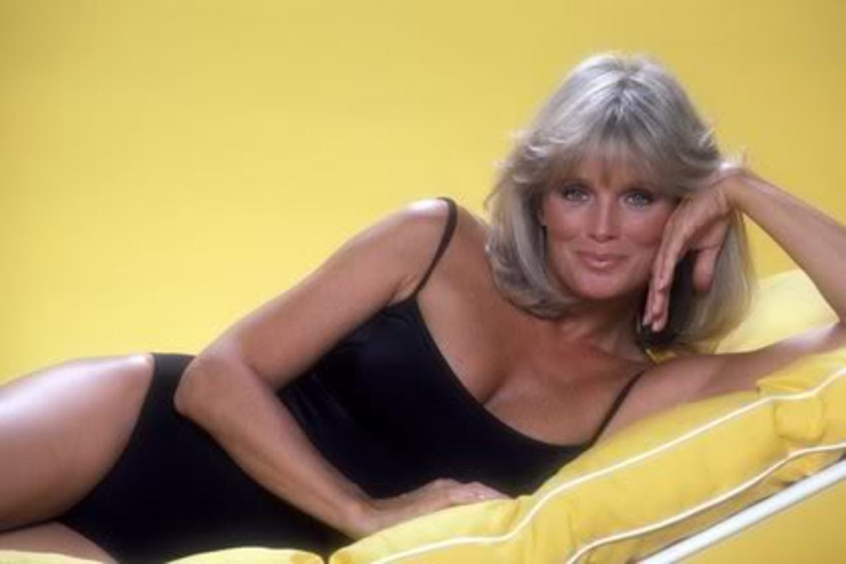 "Linda Evans won the hearts of all the men who watched ""Big Valley."""