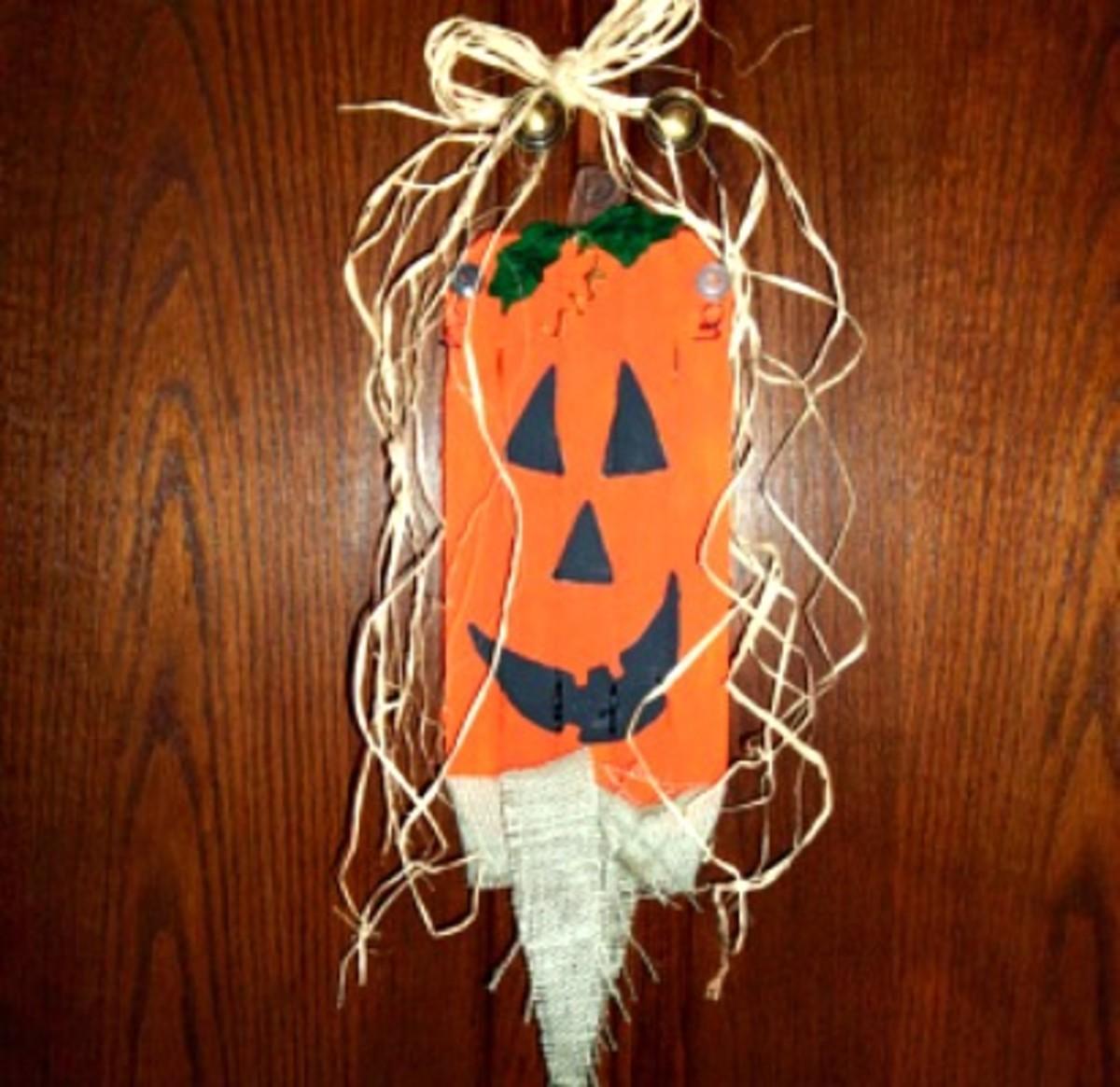 Hanging Pumpkin Craft