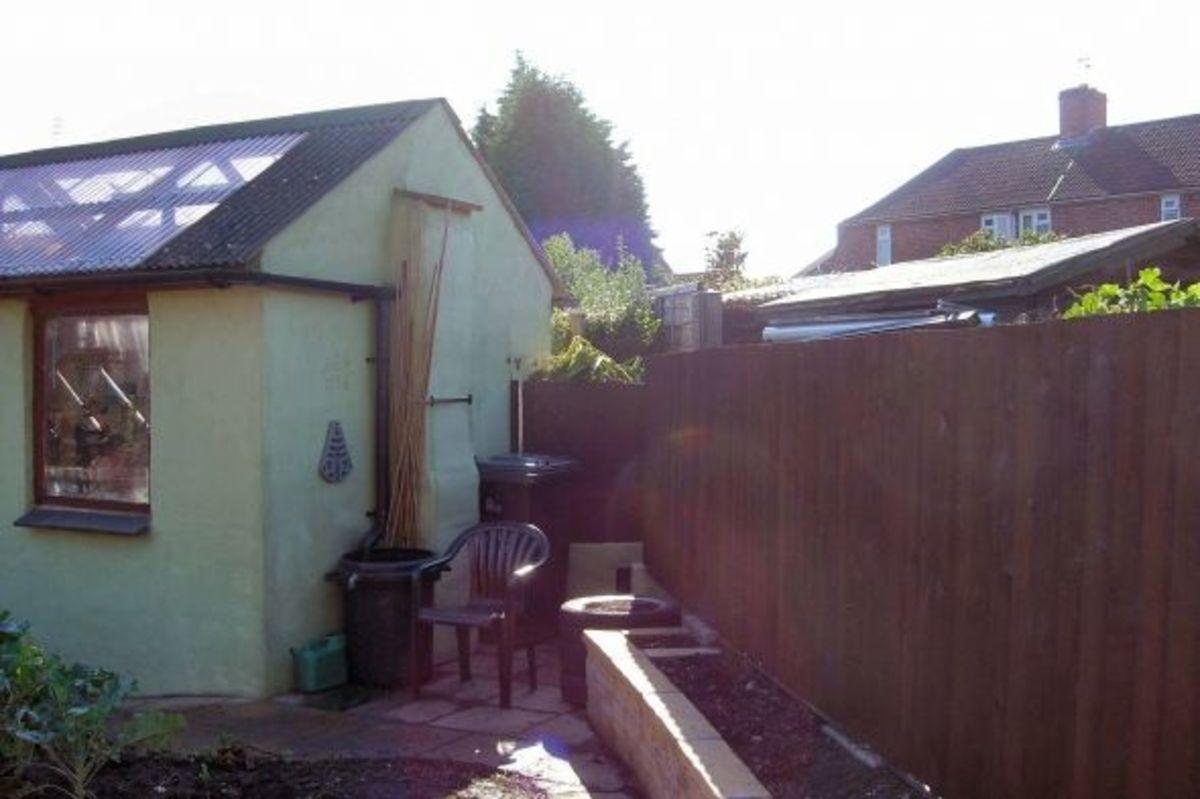 Utilising Reclaimed Garden Space
