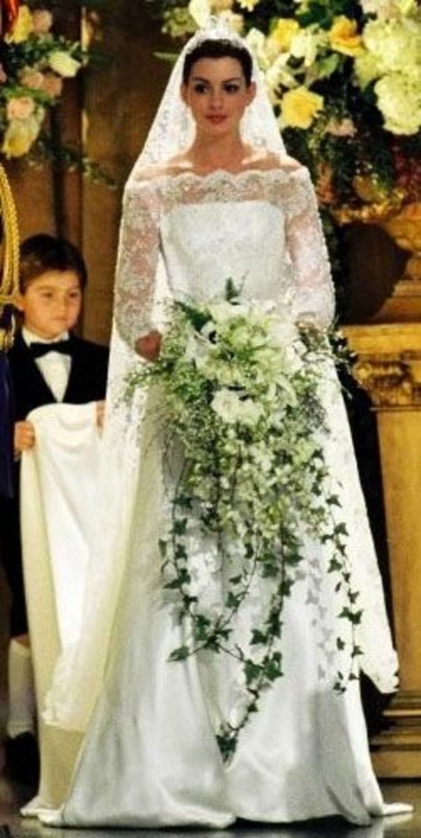 Princess Mia (Anne Hathaway)  from The Princess Diaries 2:Royal Engagement
