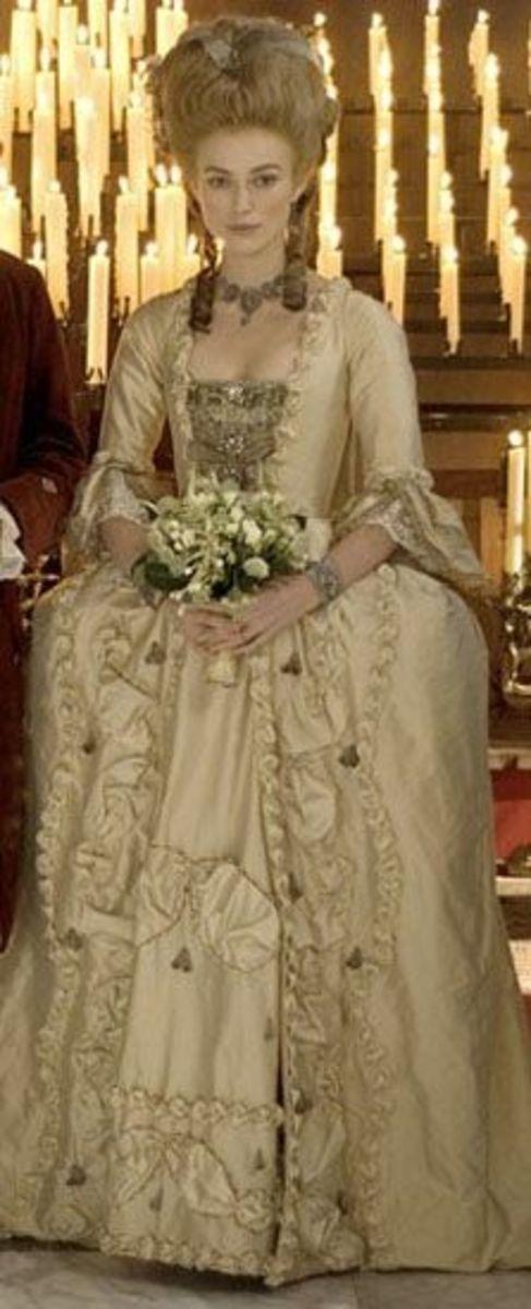 Georgiana (Keira Knightley)  from The Duchess