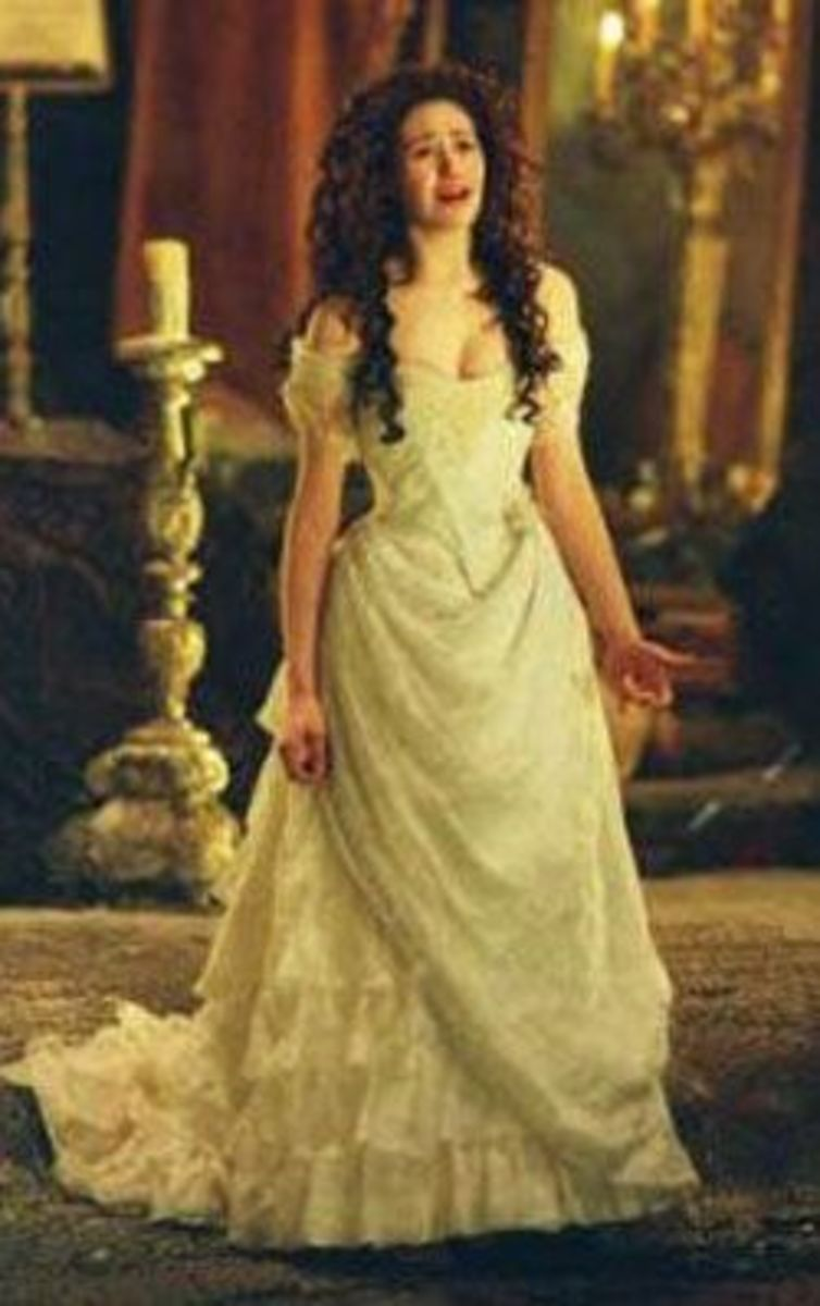 Christine Daae   (Emmy Rossum) from The Phantom of the Opera
