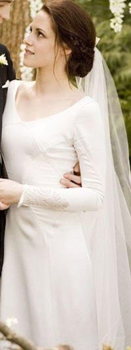 Bella Swan  (Kristen Stewart)  from  Twilight; Breaking dawn