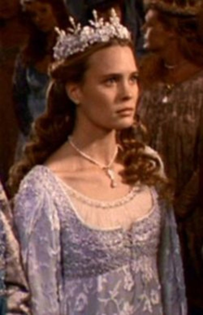 Princess Buttercup  (Robin Wright Penn) from The Princess Bride
