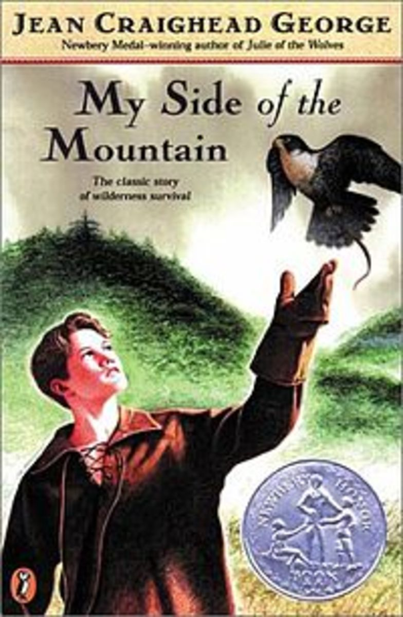 My Side of the Mountain is a good read aloud for ages 7 and up
