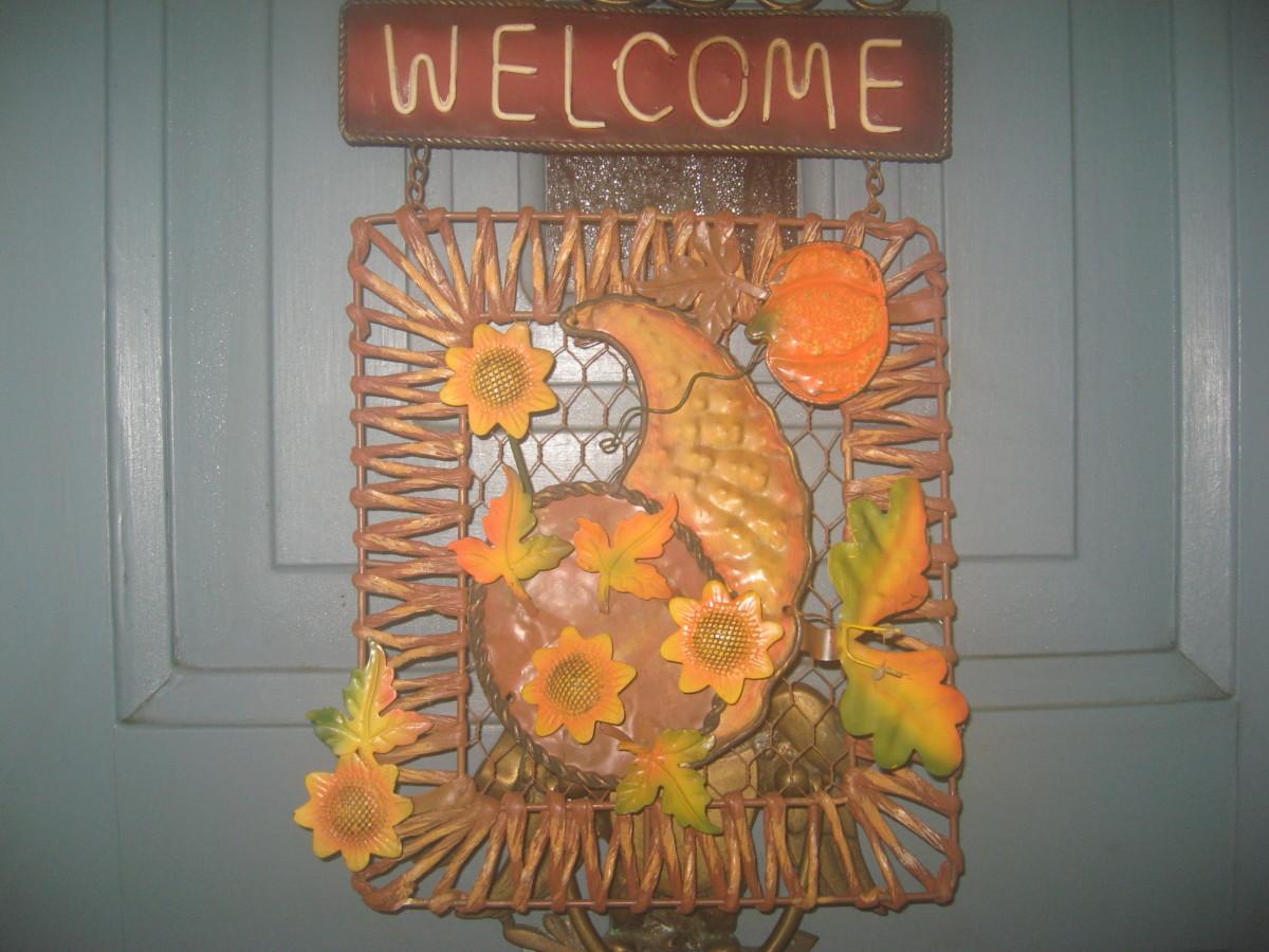 Thanksgiving Door Decorations