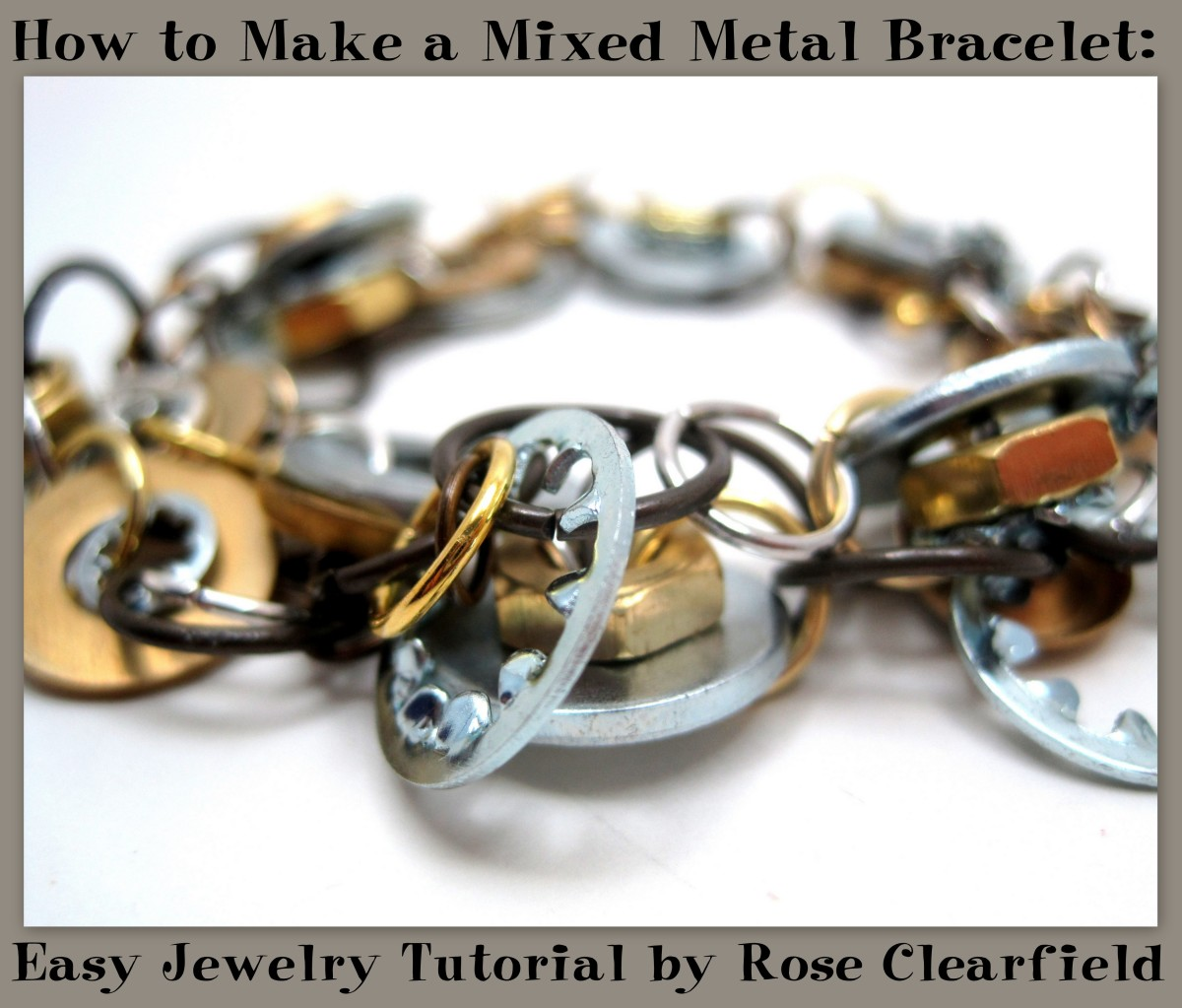 How to Make a Mixed Metal Bracelet: Easy Jewelry Tutorial