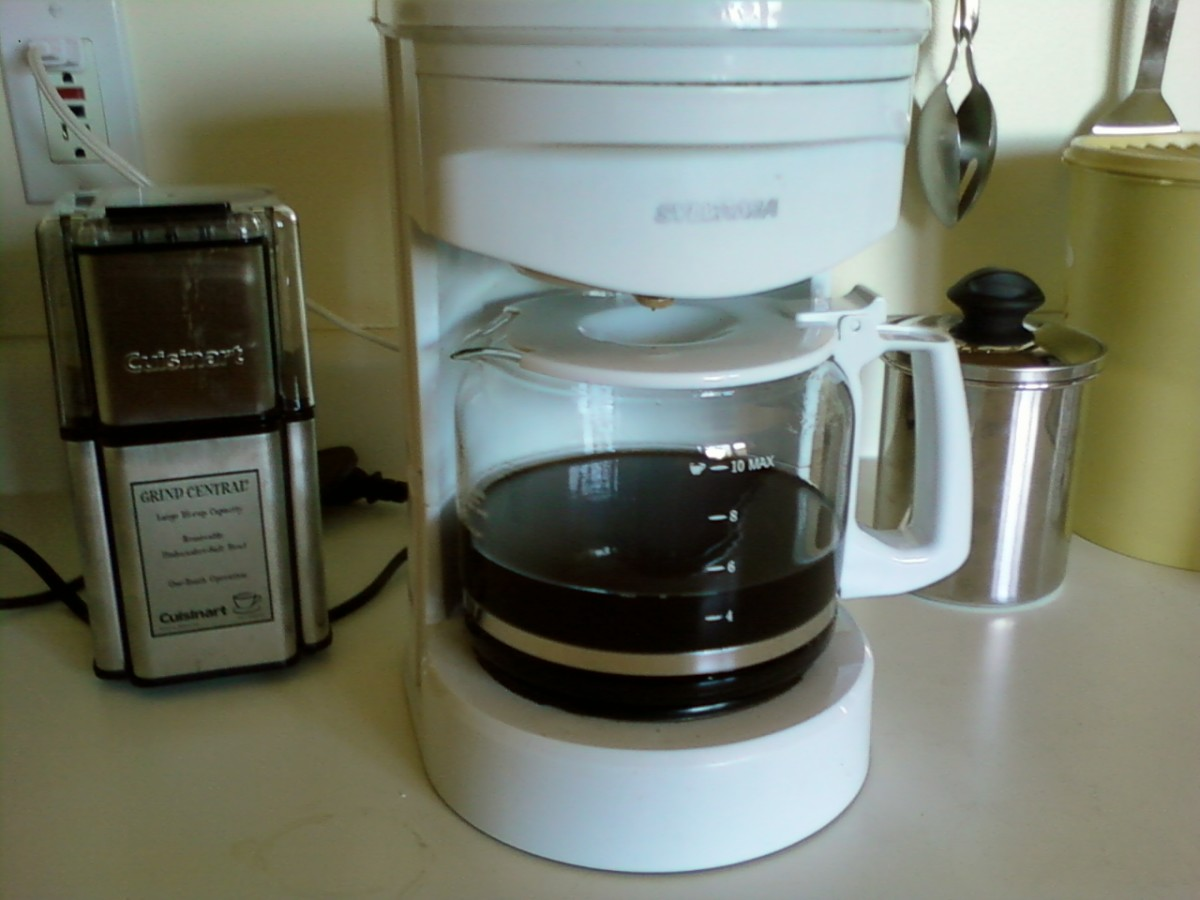 A good home brewed pot of great coffee