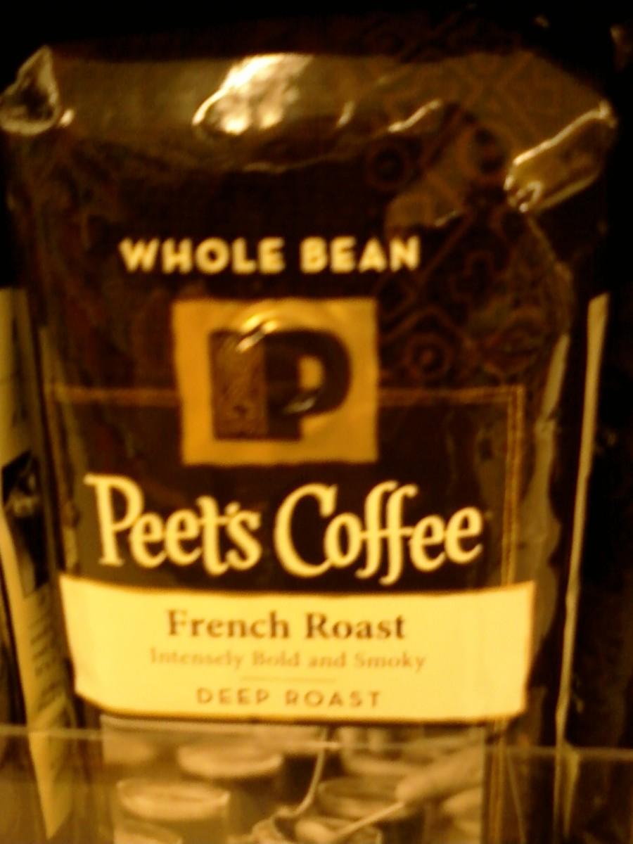 Peet's Coffee brand coffee