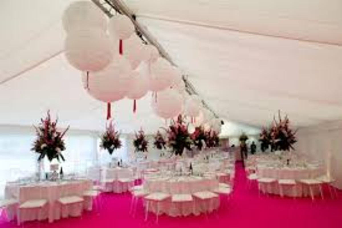 Have a theme for your wedding reception