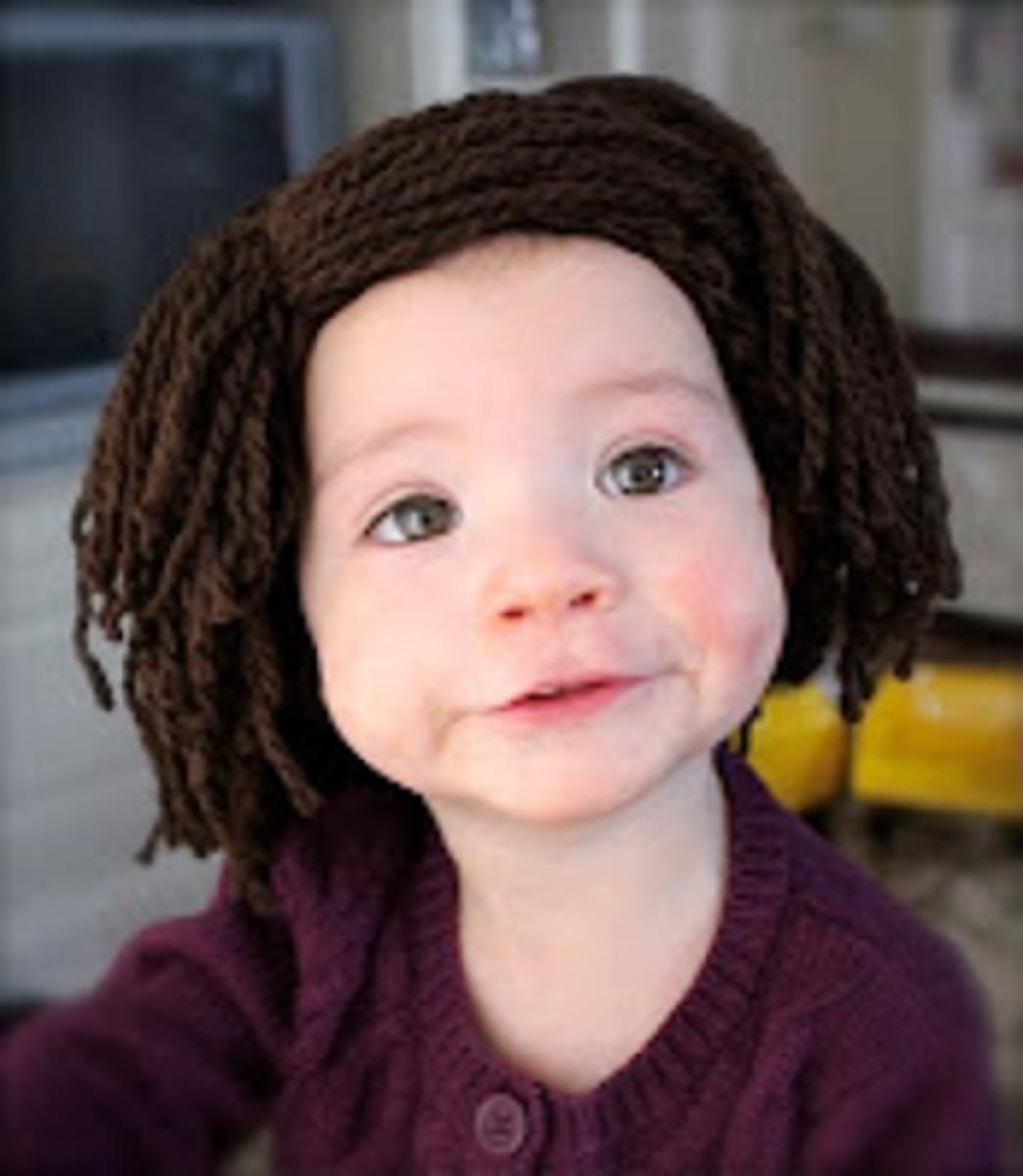 Bald Baby Wig