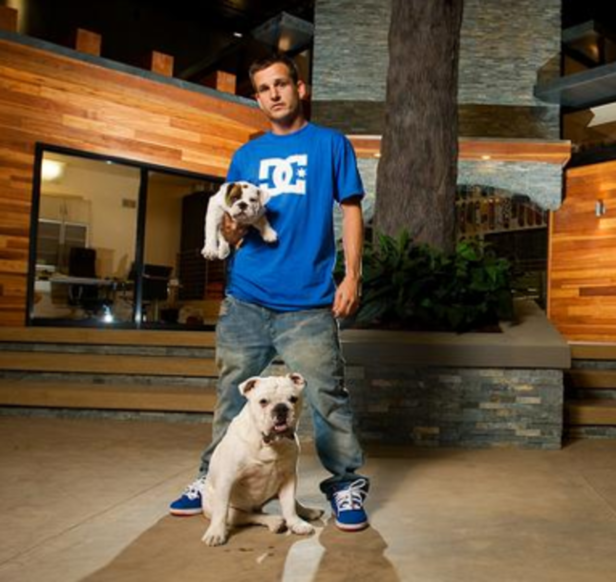 Rob Dyrdek with Meaty & Beefy