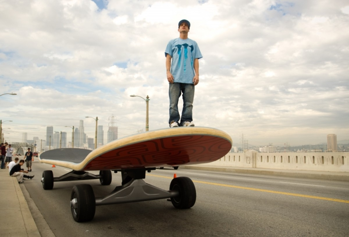 Largest Skateboard in the World