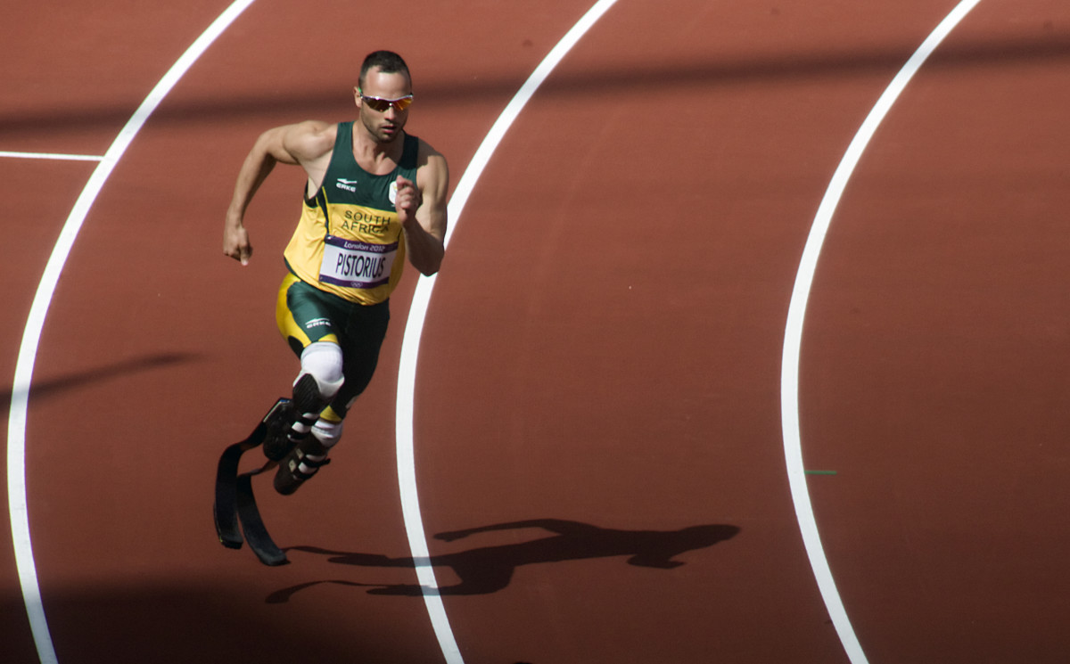 Olympic Sprinter Oscar Pistorius - aka The Blade Runner