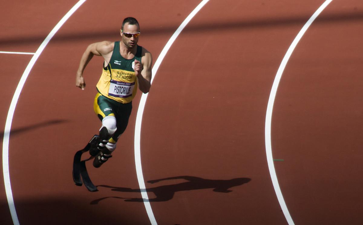 Olympic Sprinter Oscar Pistorius - Aka the Blade Runner