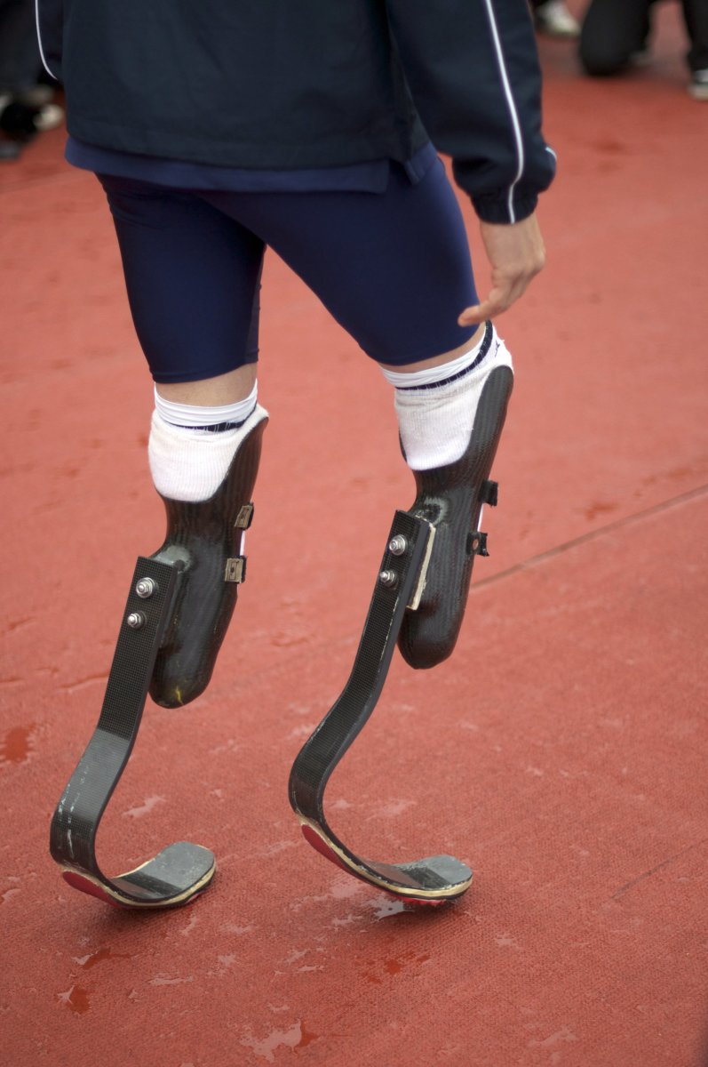 "Oscar Pistorius's ""Cheetah Legs."""