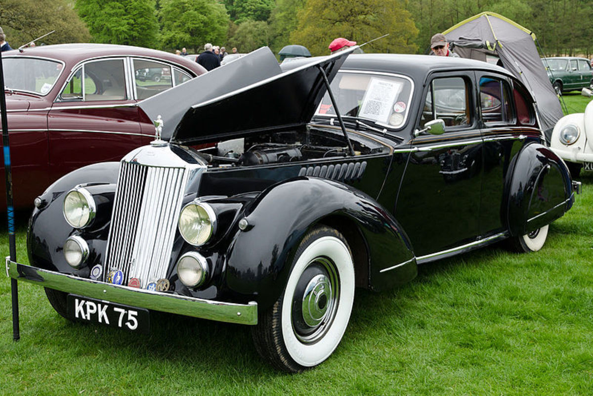 1946 Invicta Black Prince. Notice the small rear seat and trunk area.