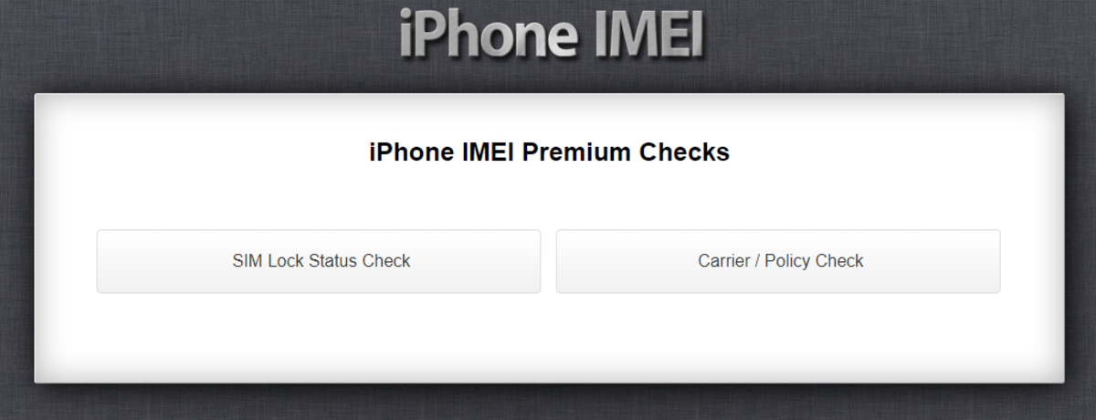 How to Check iPhone Lock Status Using the IMEI Number   HubPages