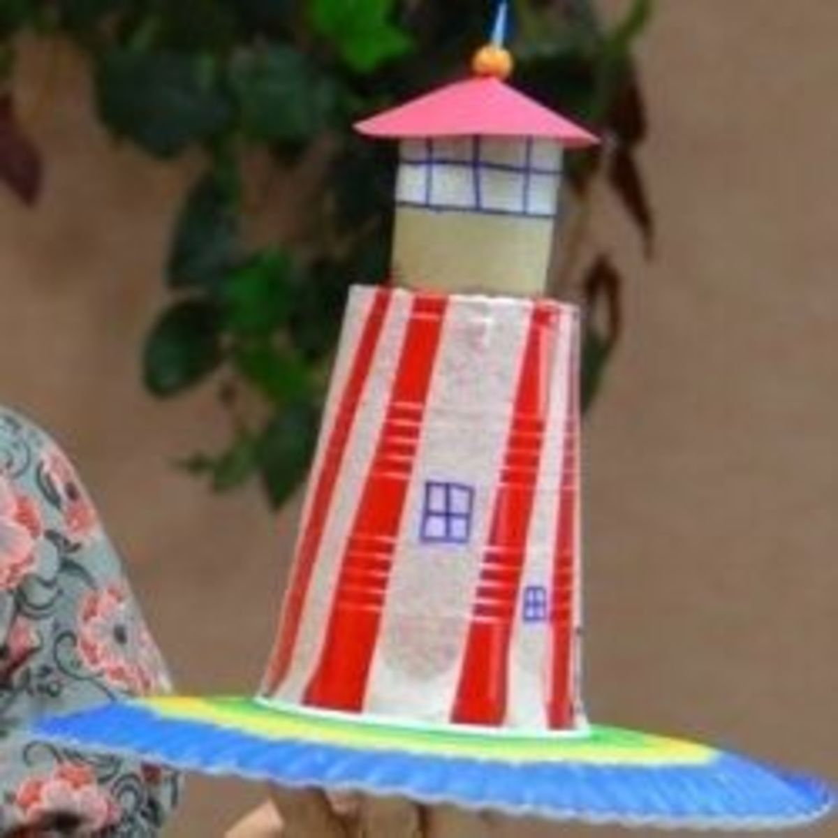 Model of a lighthouse
