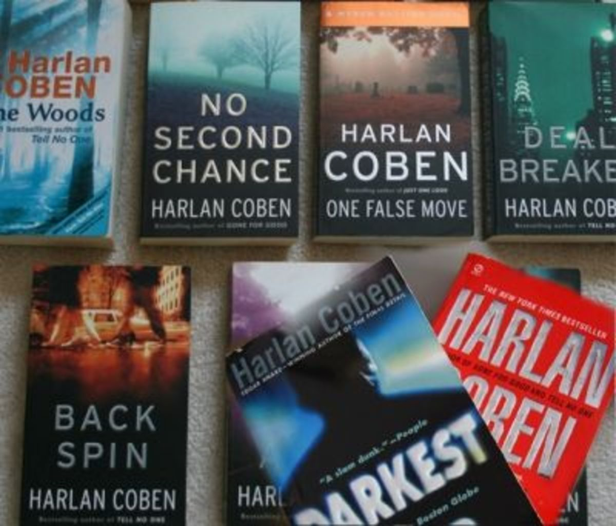 A few Harlan Coben books from my collection