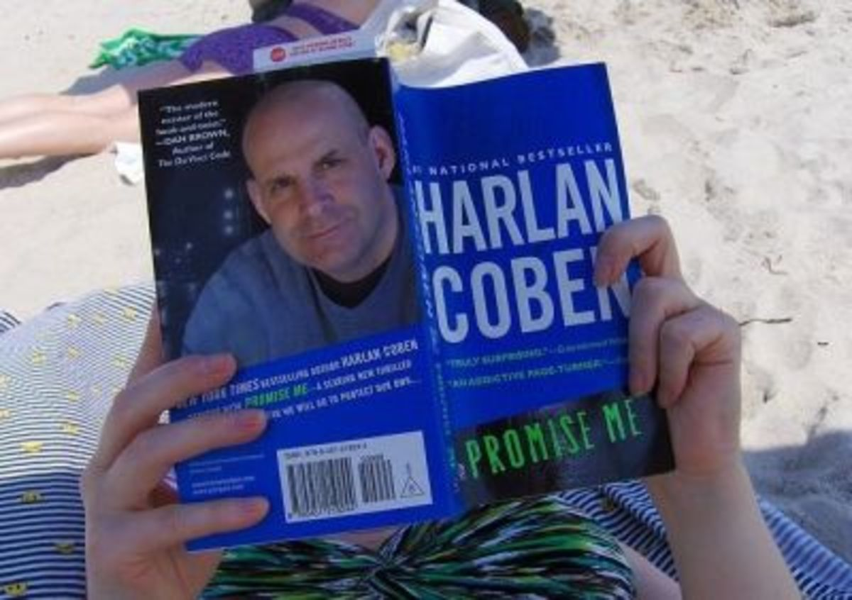 Harlan Coben books make for such great beach reads :)